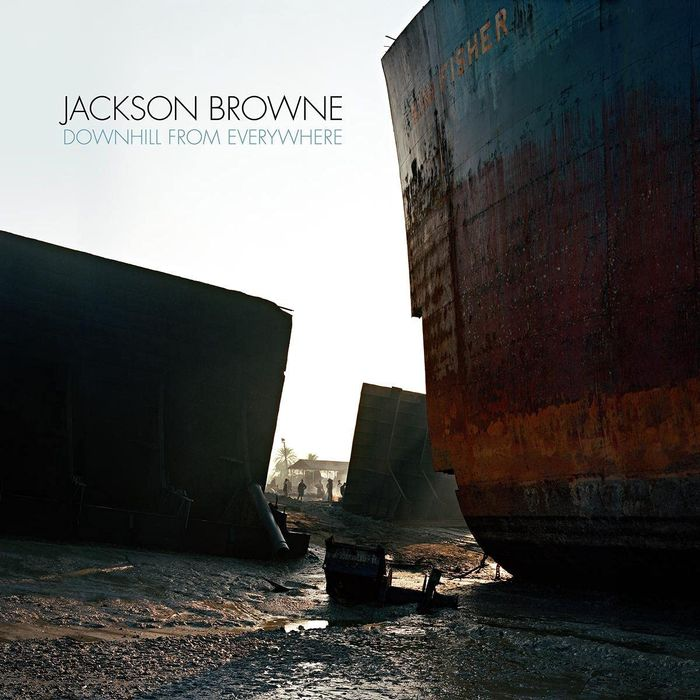 Album Cover - Jackson Browne - Downhill From Everywhere