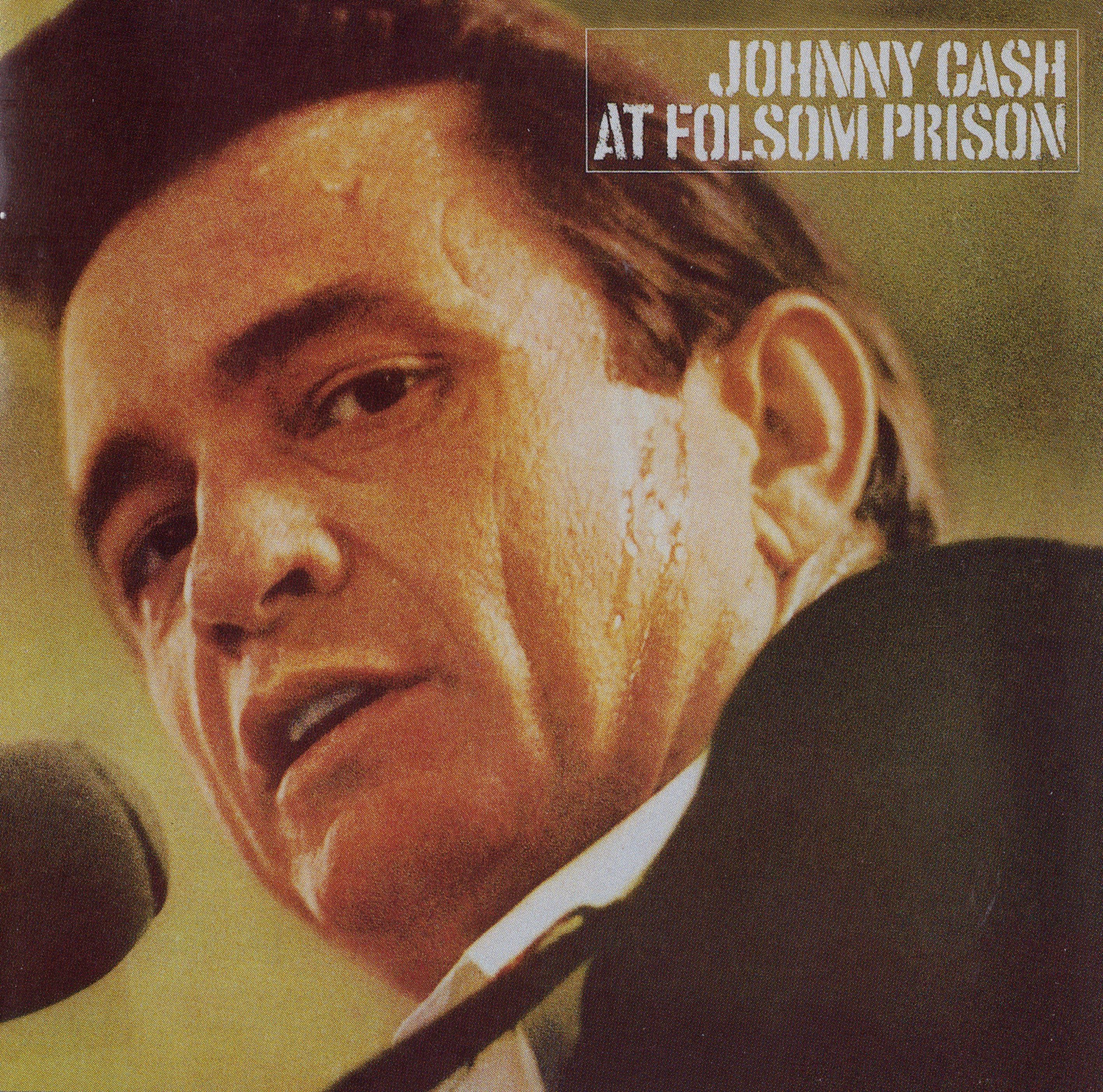 Johnny Cash - Johnny Cash At Folsom Prison - Album Cover