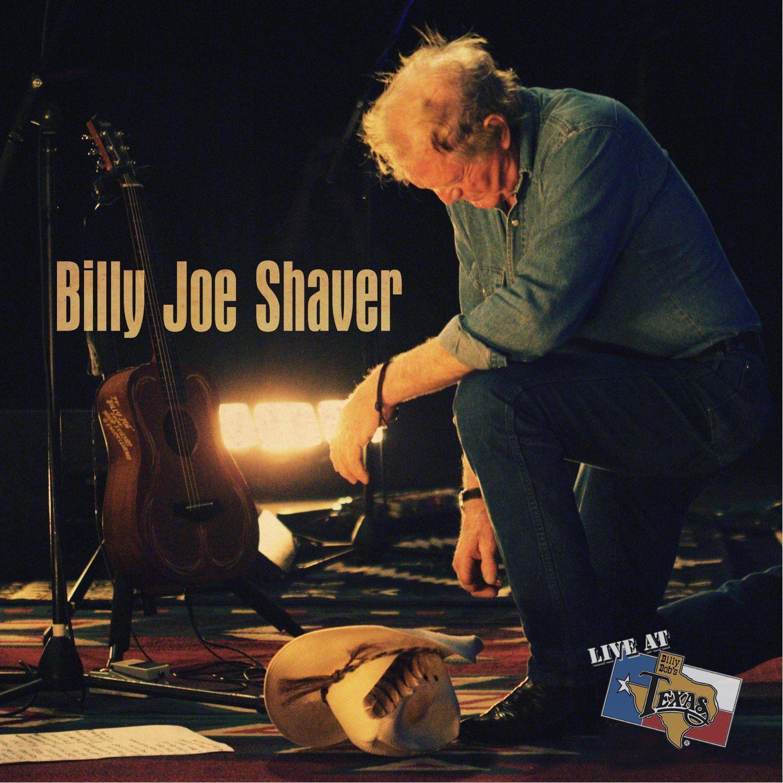 Billy Joe Shaver - Live at Billy Bob's Texas - Album Cover