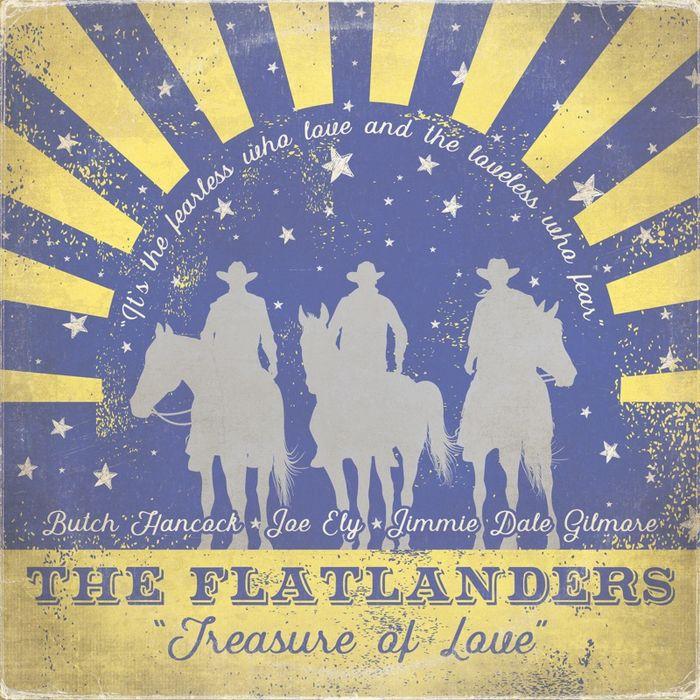 Album Cover - The Flatlanders - Treasure of Love