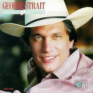 George Strait - Right or Wrong - Album Cover