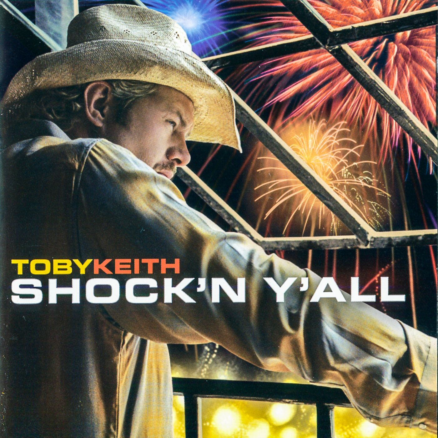 Toby Keith - Shock'N Y'All - Album Cover