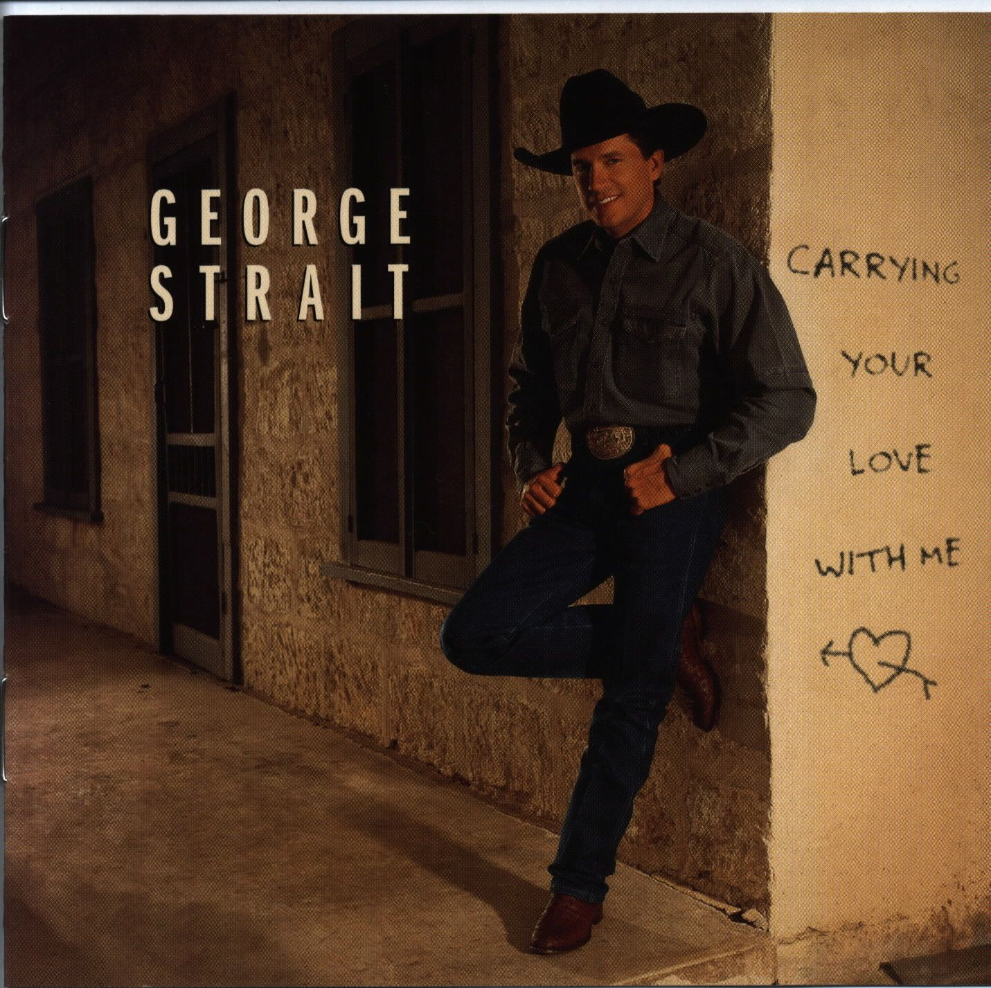 George Strait - Carrying Your Love With Me - Album Cover