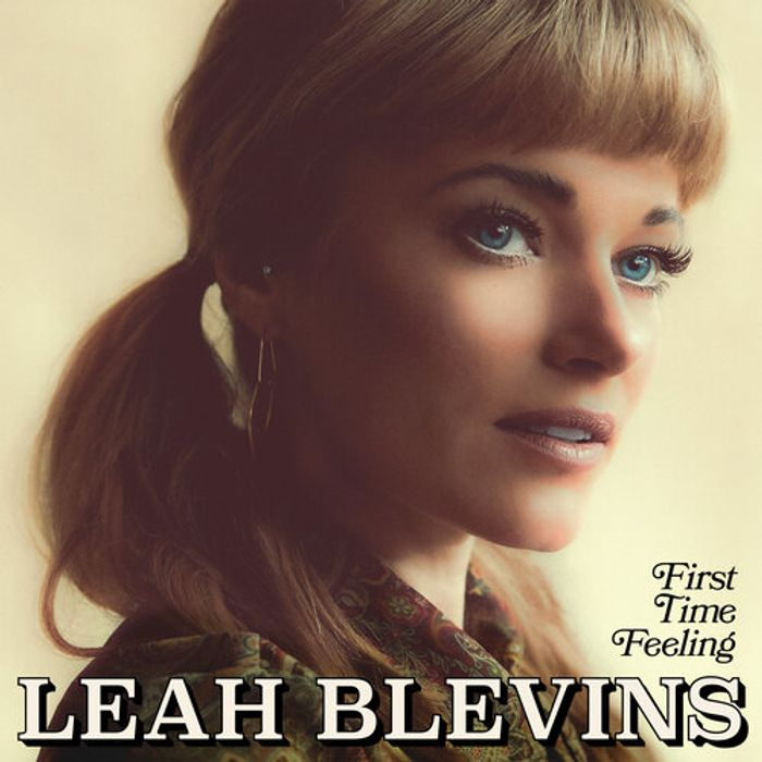 Album Cover - Leah Blevins - First Time Feeling