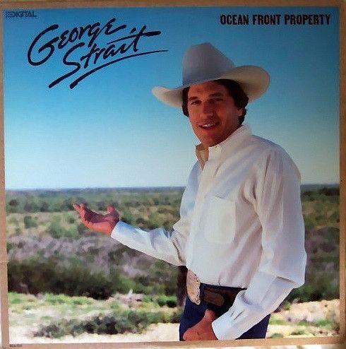 George Strait - Ocean Front Property - Album Cover