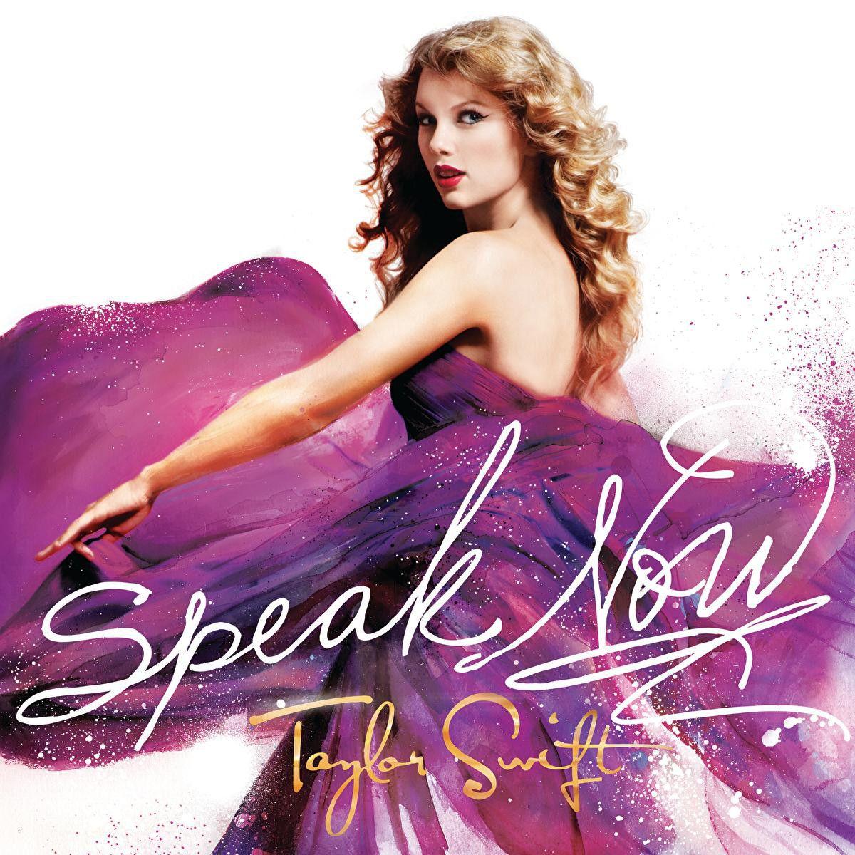 Taylor Swift - Speak Now - Album Cover