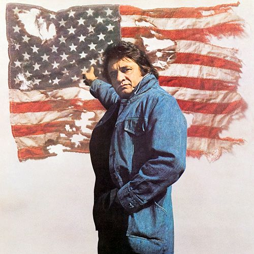 Johnny Cash - Ragged Old Flag - Album Cover
