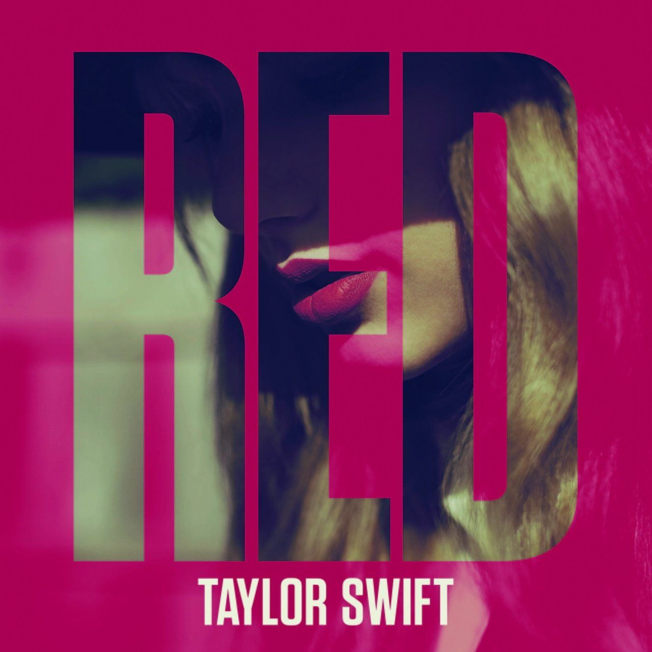 Taylor Swift - Red (Deluxe Edition) - Album Cover