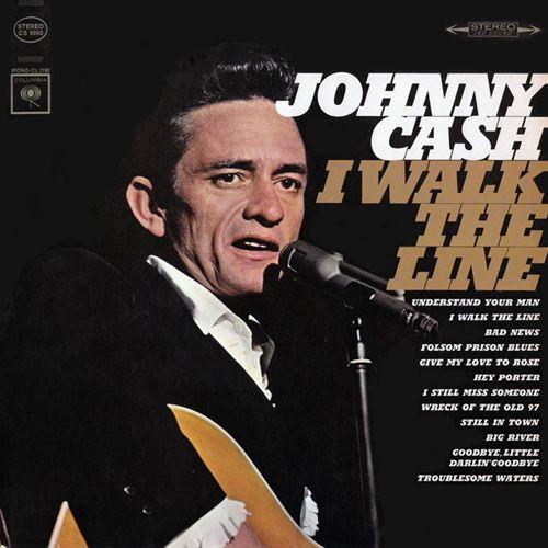 Johnny Cash - I Walk The Line - Album Cover