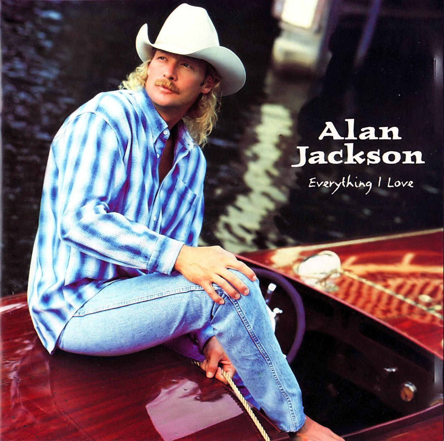 Alan Jackson - Everything I Love - Album Cover