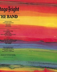 Album - The Band - Stage Fright