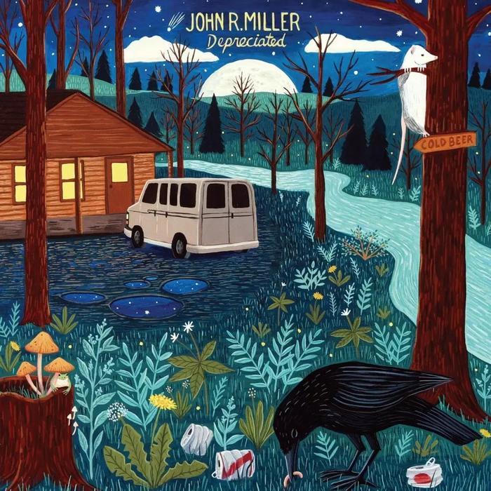 John R. Miller - Depreciated Album Cover