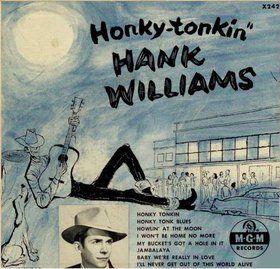 Hank Williams - Honky-tonkin - Album Cover