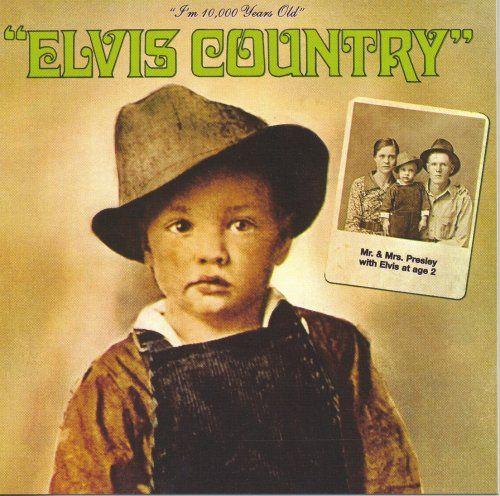 Elvis Presley - Elvis Country - Album Cover