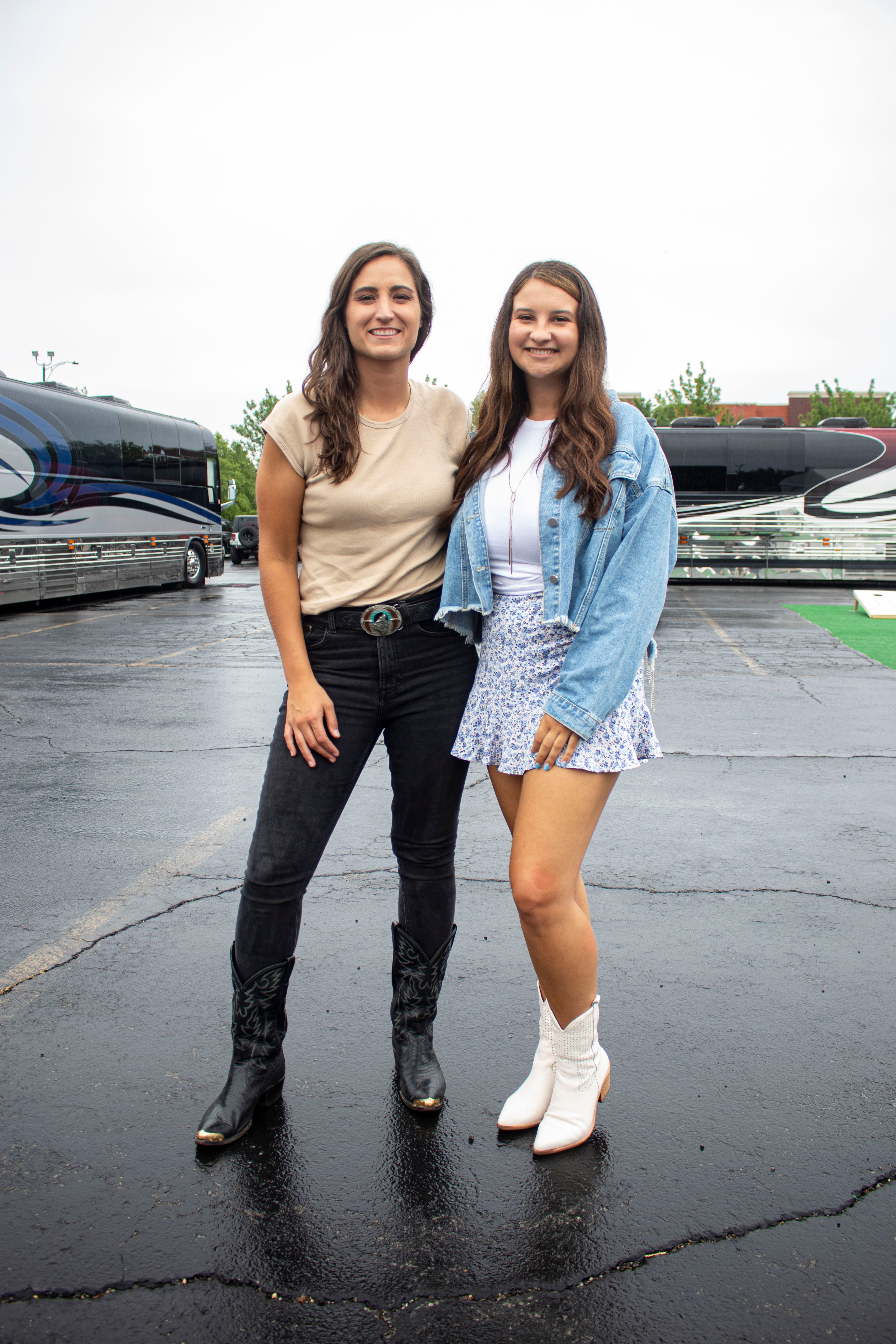 Angie K & Madeleine OConnell At Windy City Smokeout