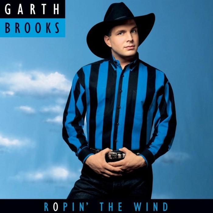 Album Cover - Garth Brooks - Ropin' The Wind