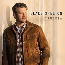 Blake Shelton - Sangria Single Cover