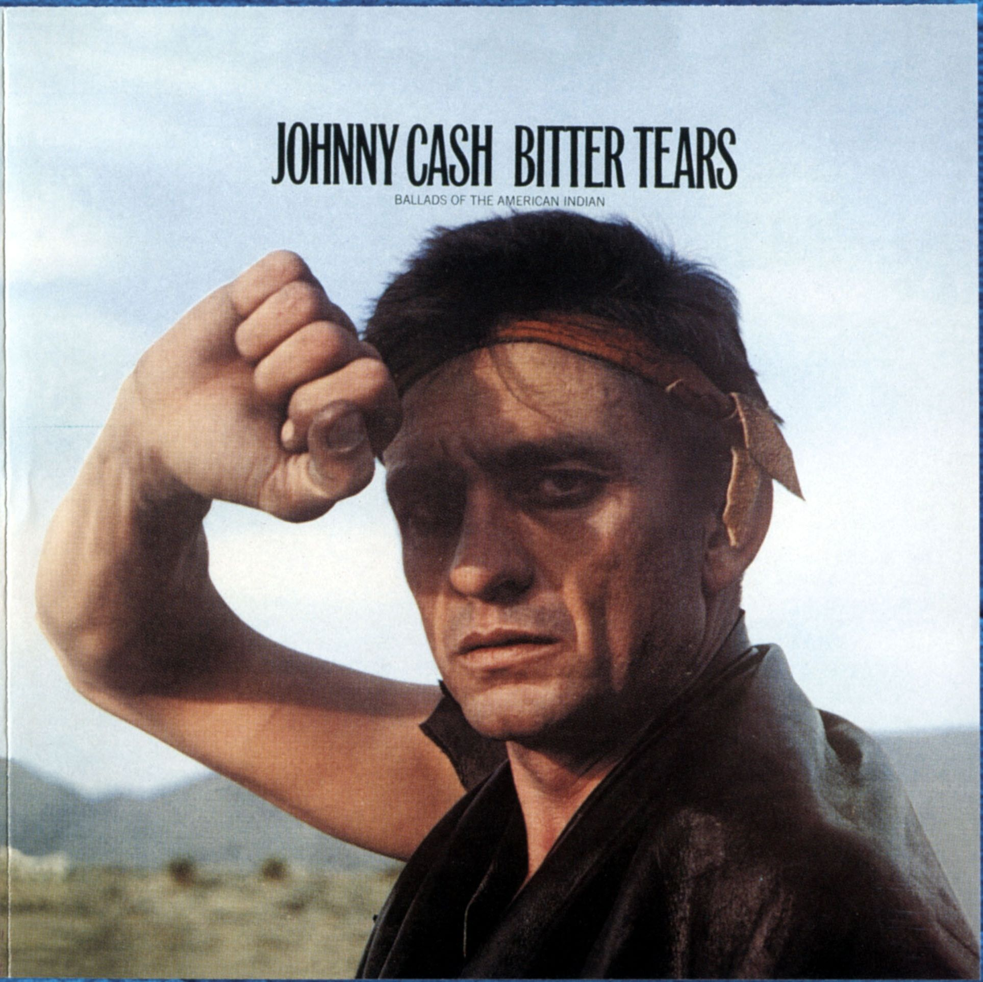 Johnny Cash - Bitter Tears: Johnny Cash Sings Ballads Of The American Indian - Album Cover