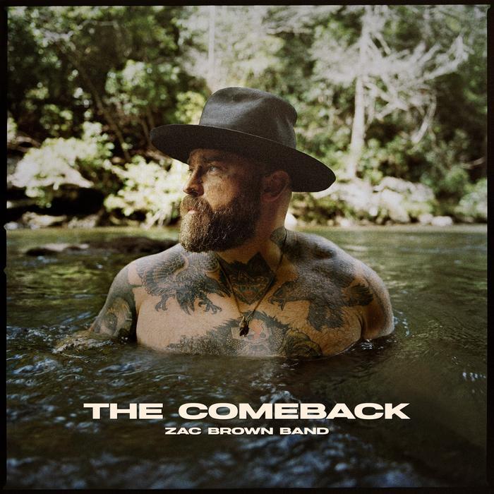 Zac Brown Band - The Comeback Album Cover