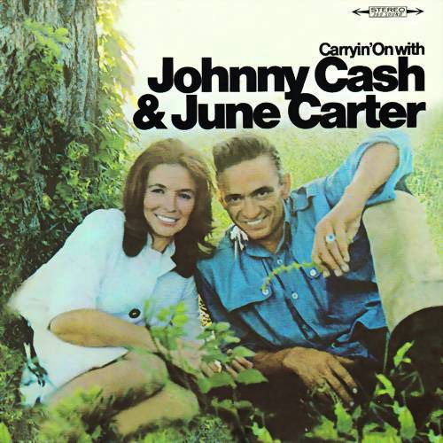 Johnny Cash & June Carter Cash - Carryin' On With Johnny Cash & June Carter - Album Cover