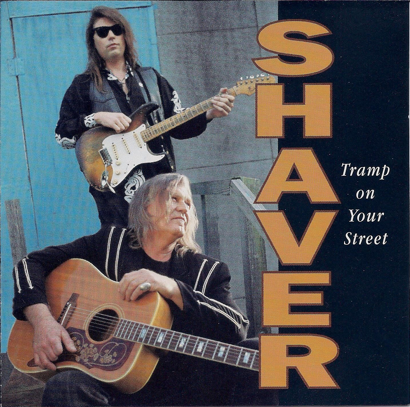 Billy Joe Shaver - Tramp On Your Street - Album Cover