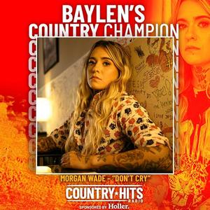 Baylen Leonard's Country Hits Radio champion Morgan Wade