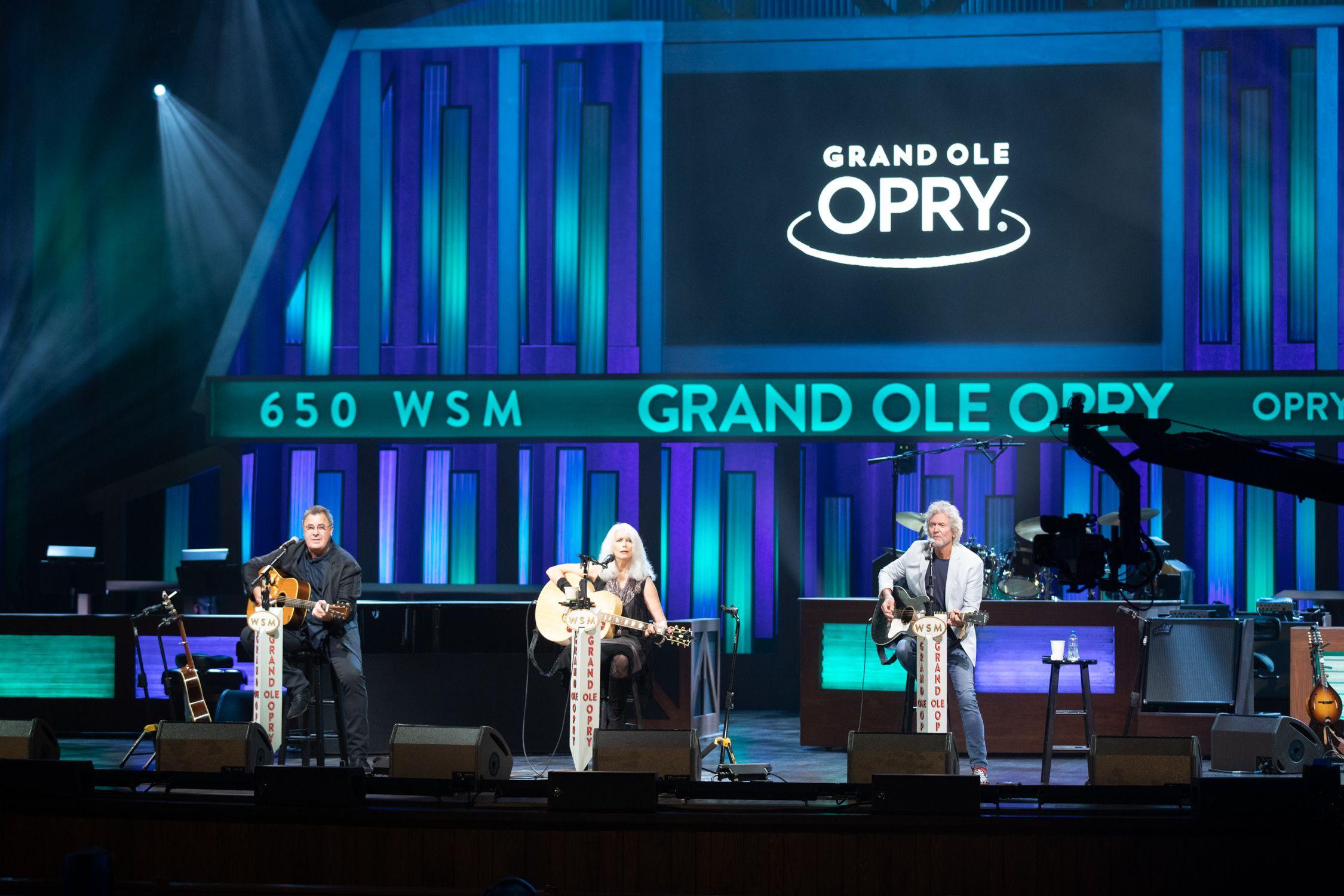 Live - Opry Rodney Crowell Emmylou Harris & Vince Gill