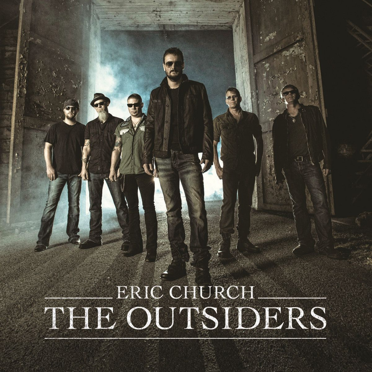 Eric Church - The Outsiders - Album Cover