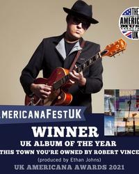 AMA UK Award Winner: UK Album of the Year - Robert Vincent