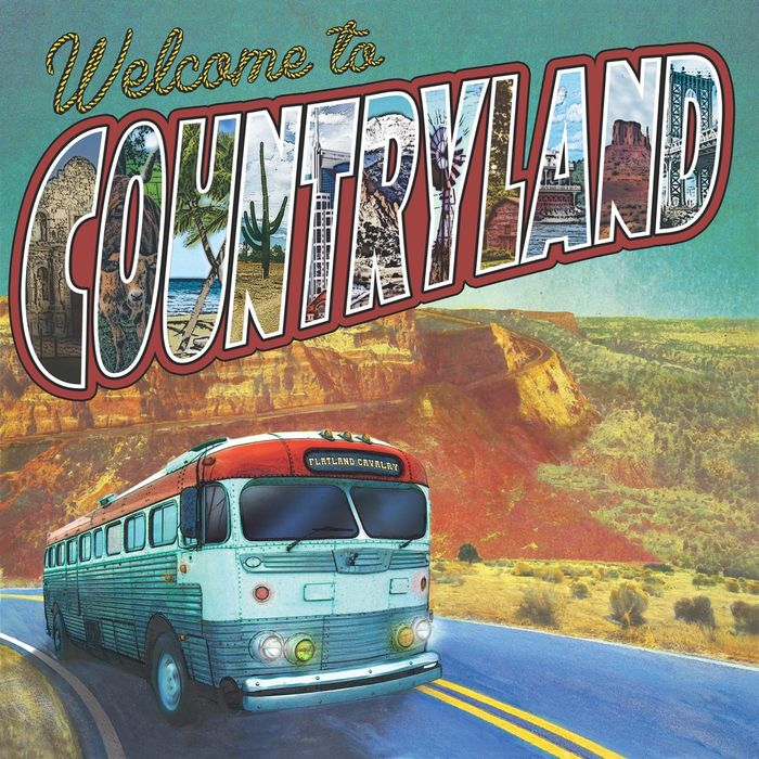 Album Cover: Flatland Cavalry - Welcome to Countryland