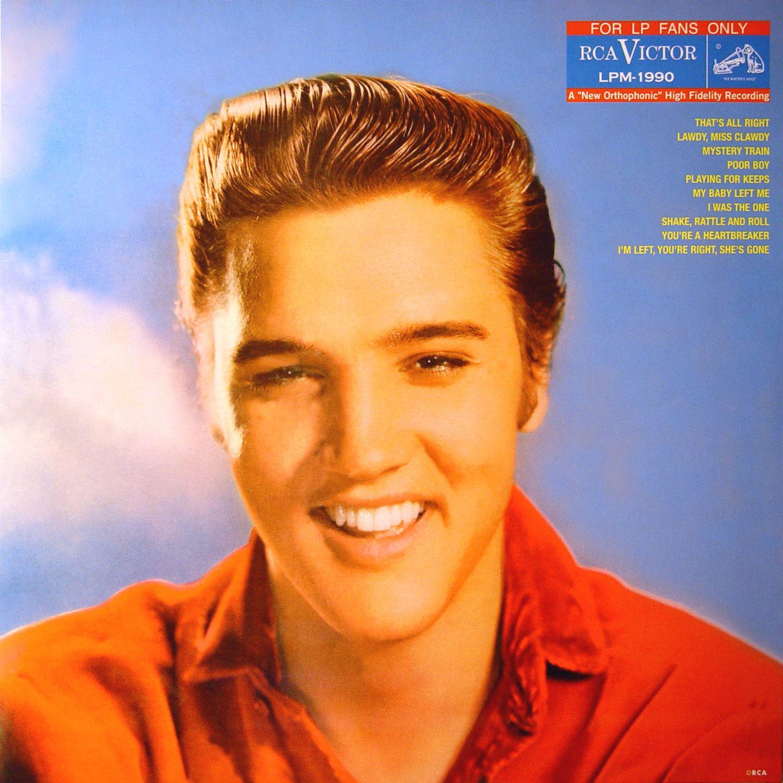 Elvis Presley - For LP Fans Only - Album Cover