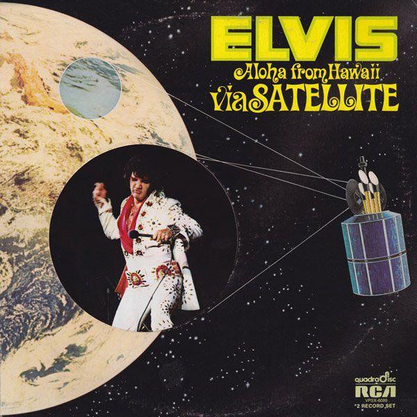 Elvis Presley - Aloha from Hawaii via Satellite - Album Cover