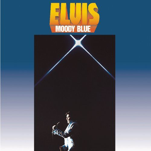 Elvis Presley - Moody Blue - Album Cover
