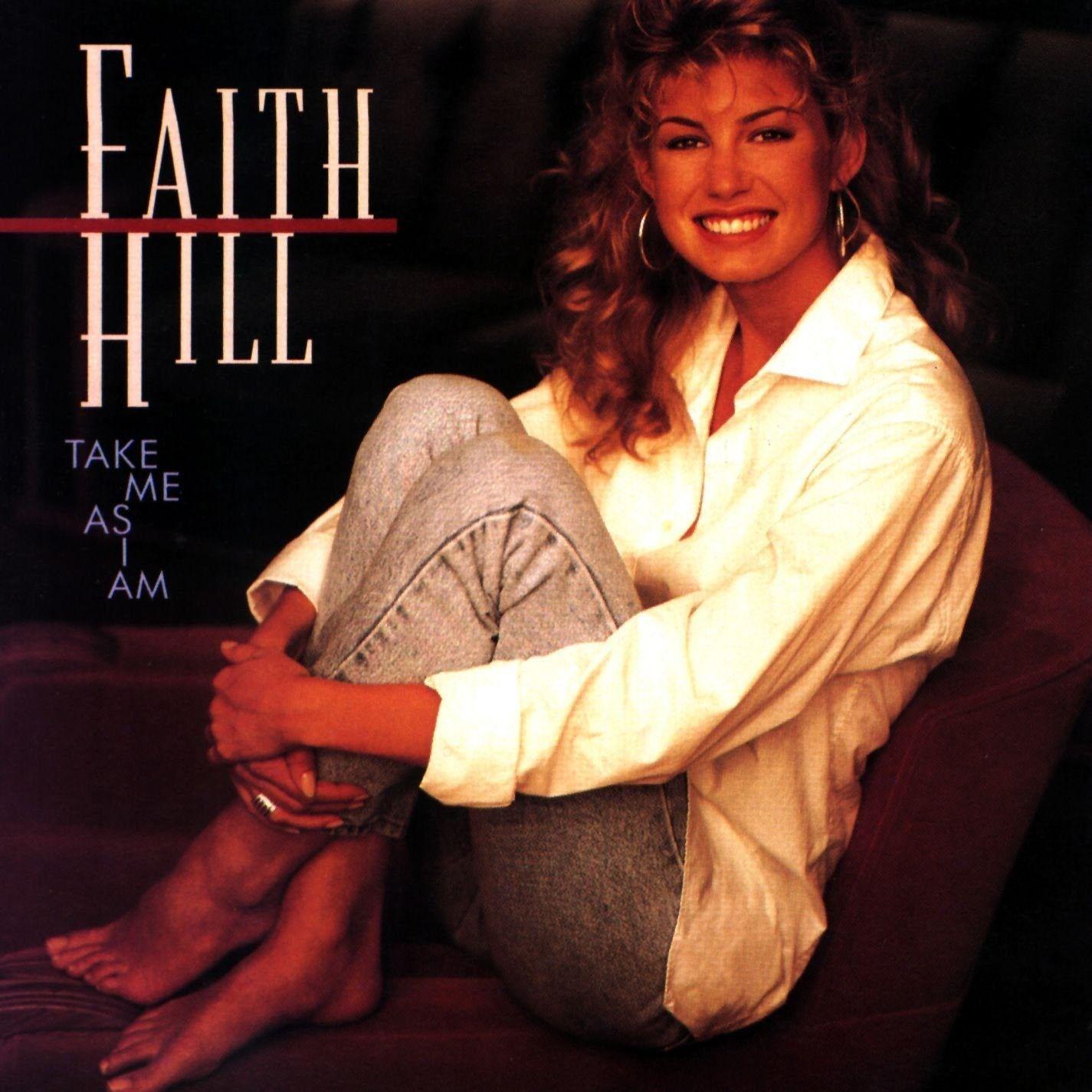 Faith Hill - Take Me As I Am Album Cover