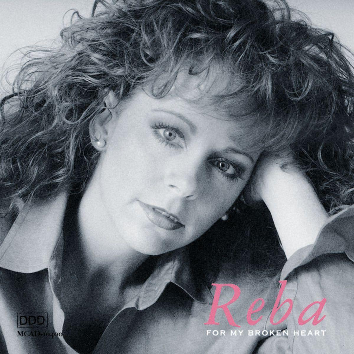 Reba McEntire - For My Broken Heart Album Cover