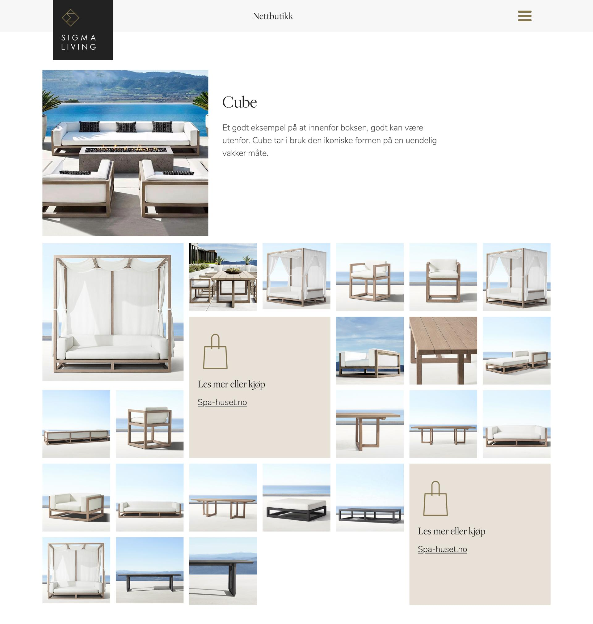 Screenshot Collection page