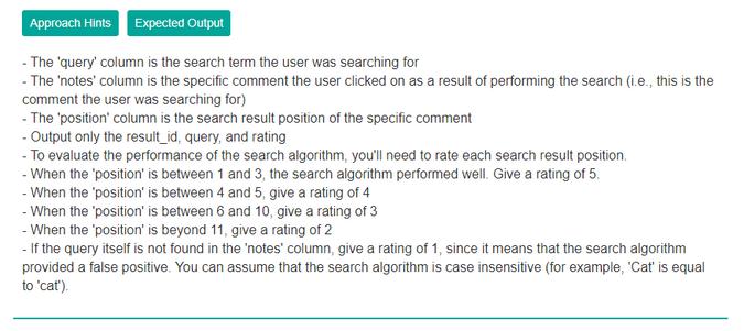 Facebook Data Scientist Analytics Interview Questions