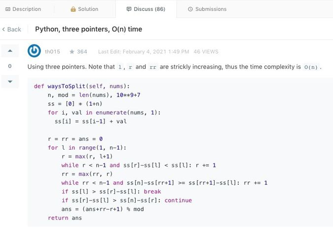 Python solution found in the discussion tab