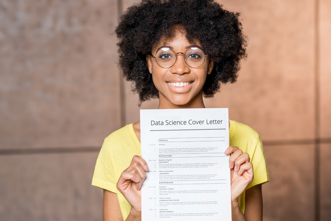Data Science Cover Letter