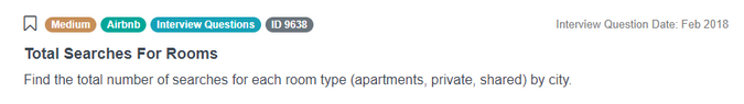 SQL Interview Question from Airbnb