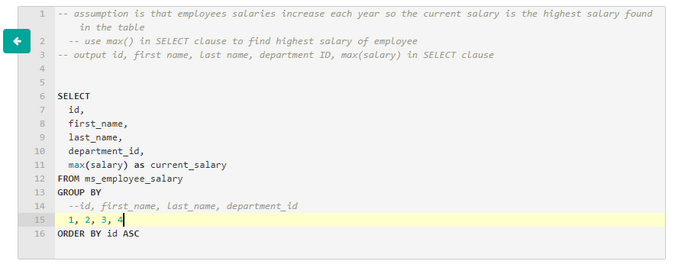 Microsoft Data Science Interview Questions Employee Salaries