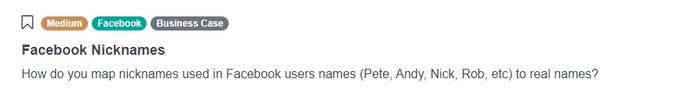 Facebook Nicknames