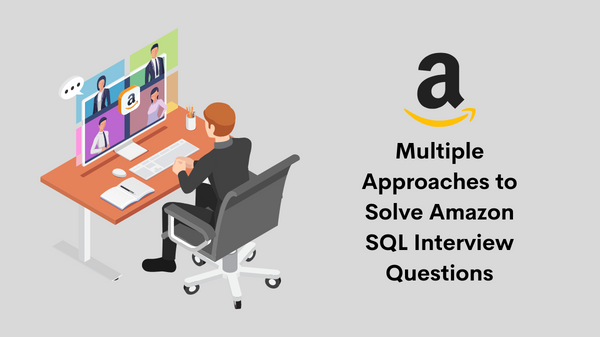 Amazon SQL Interview Questions