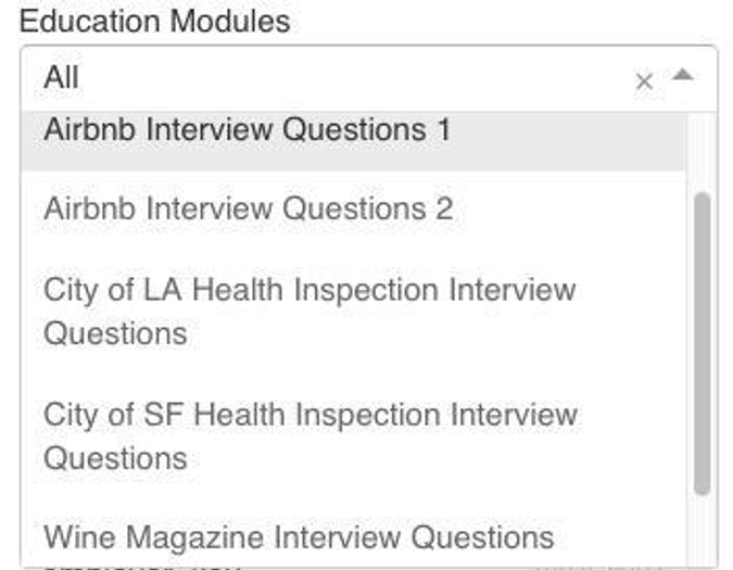 Best SQL Interview Modules