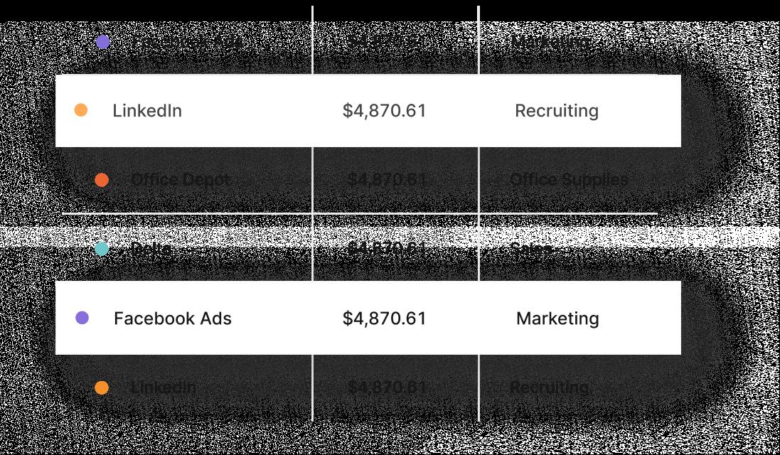 View customer account data