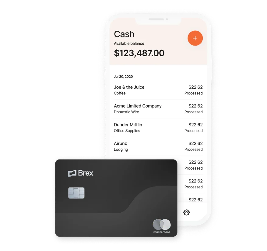 Brex cash instant payouts feature for amazon ecommerce sellers