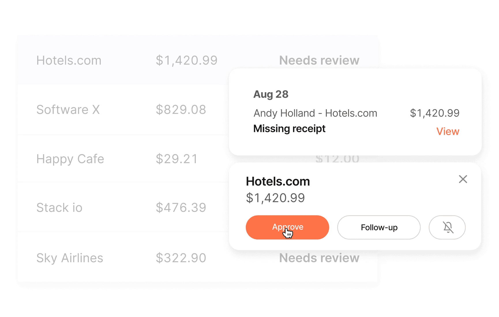 brex corporate card for startups expense management integrations