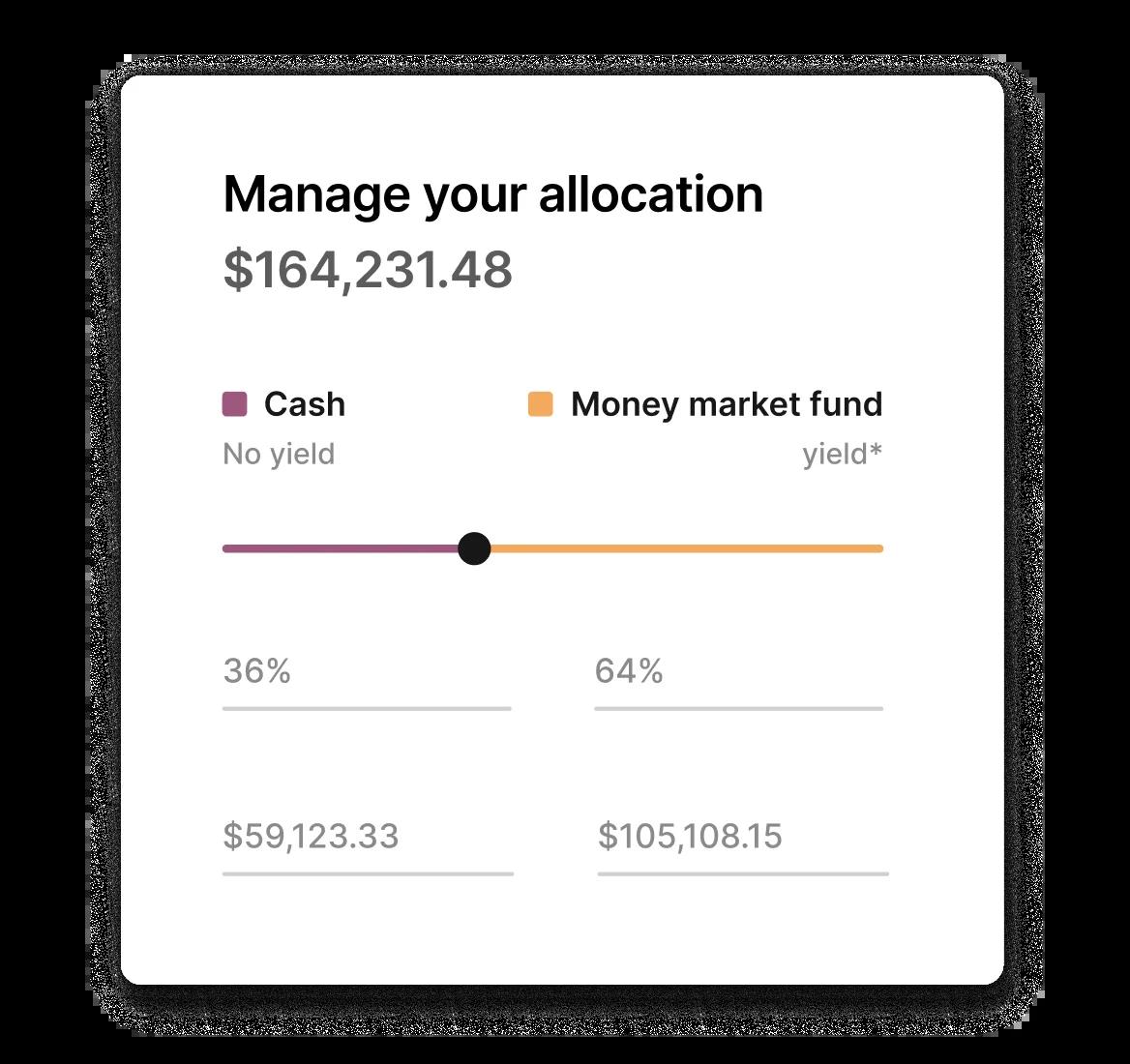 Brex cash FDIC fund allocation