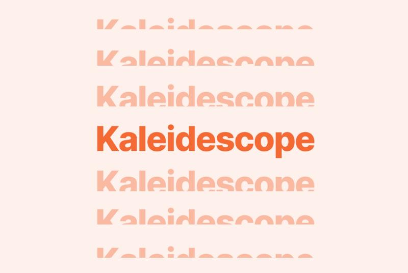 Kaleidoscope at Brex.