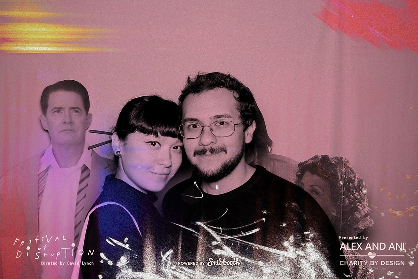 Disruption Fest Event Photo booth